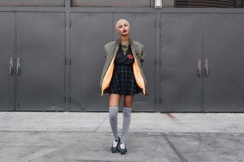 Streetsnaps: Taylor Fisher at Agenda Las Vegas