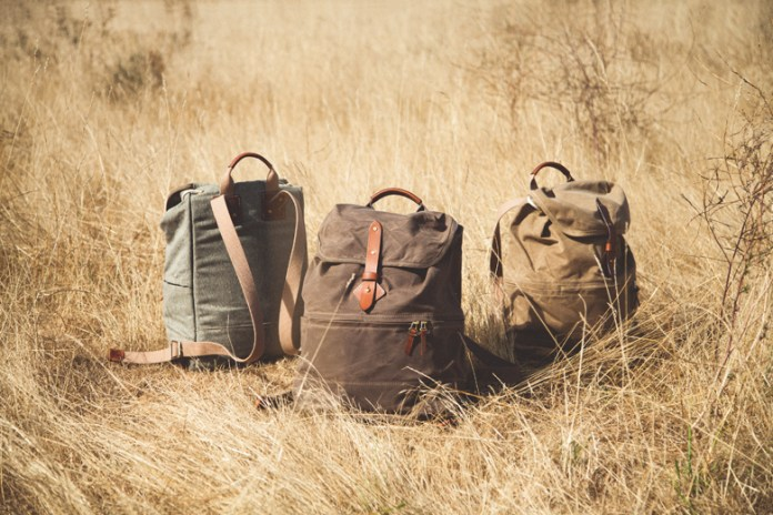 "Tanner Goods 2015 Fall/Winter ""Voyager Daypack"" Collection"