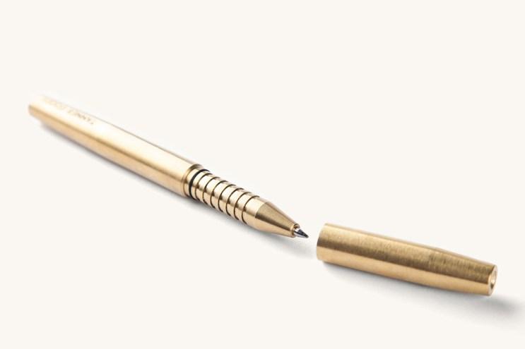 Tanner Goods Memori Brass Pen