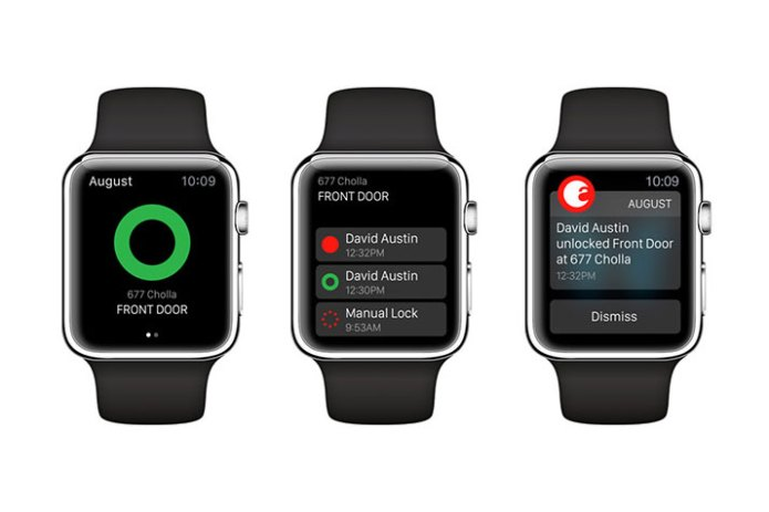 The August Smart Lock Is Now Compatible With the Apple Watch