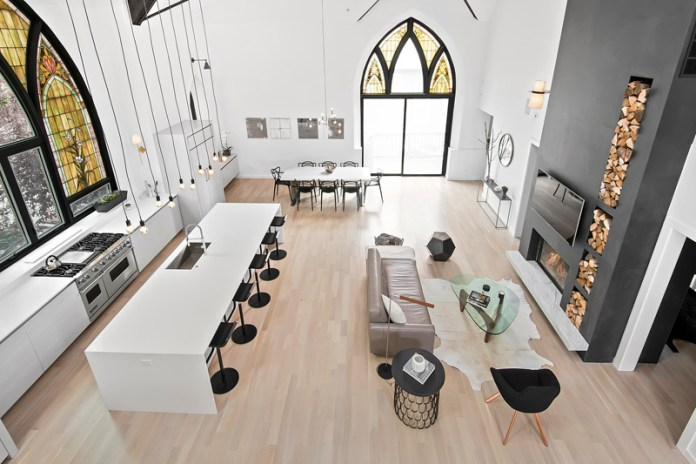 The Chicago Church That Has Been Transformed Into a Family Home