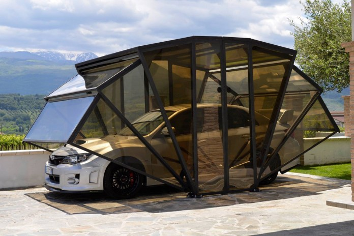 The GazeBox Is an Exoskeleton for Your Car