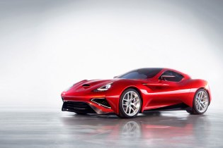 The Icona Vulcano Is the World's First Titanium Car