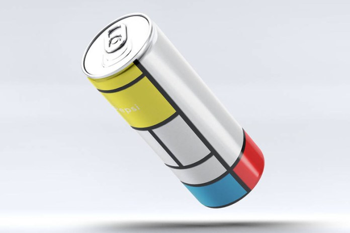 The Mondrian Pepsi Can by Andrea Salamino