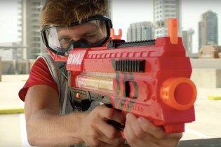 """The New NERF Blaster """"Rival"""" Is Advanced Playground Warfare"""
