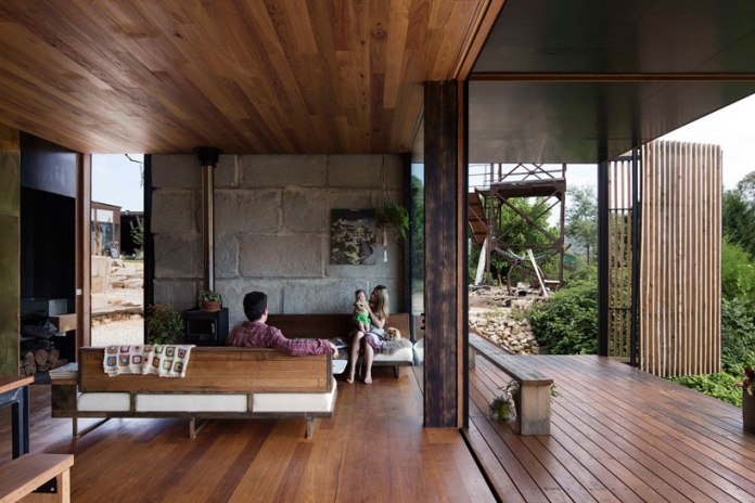 The Sawmill House in Victoria, Australia by Archier
