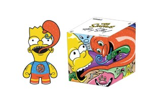 'The Simpsons' x Ron English x Kenny Scharf x Kidrobot Figures Coming Soon