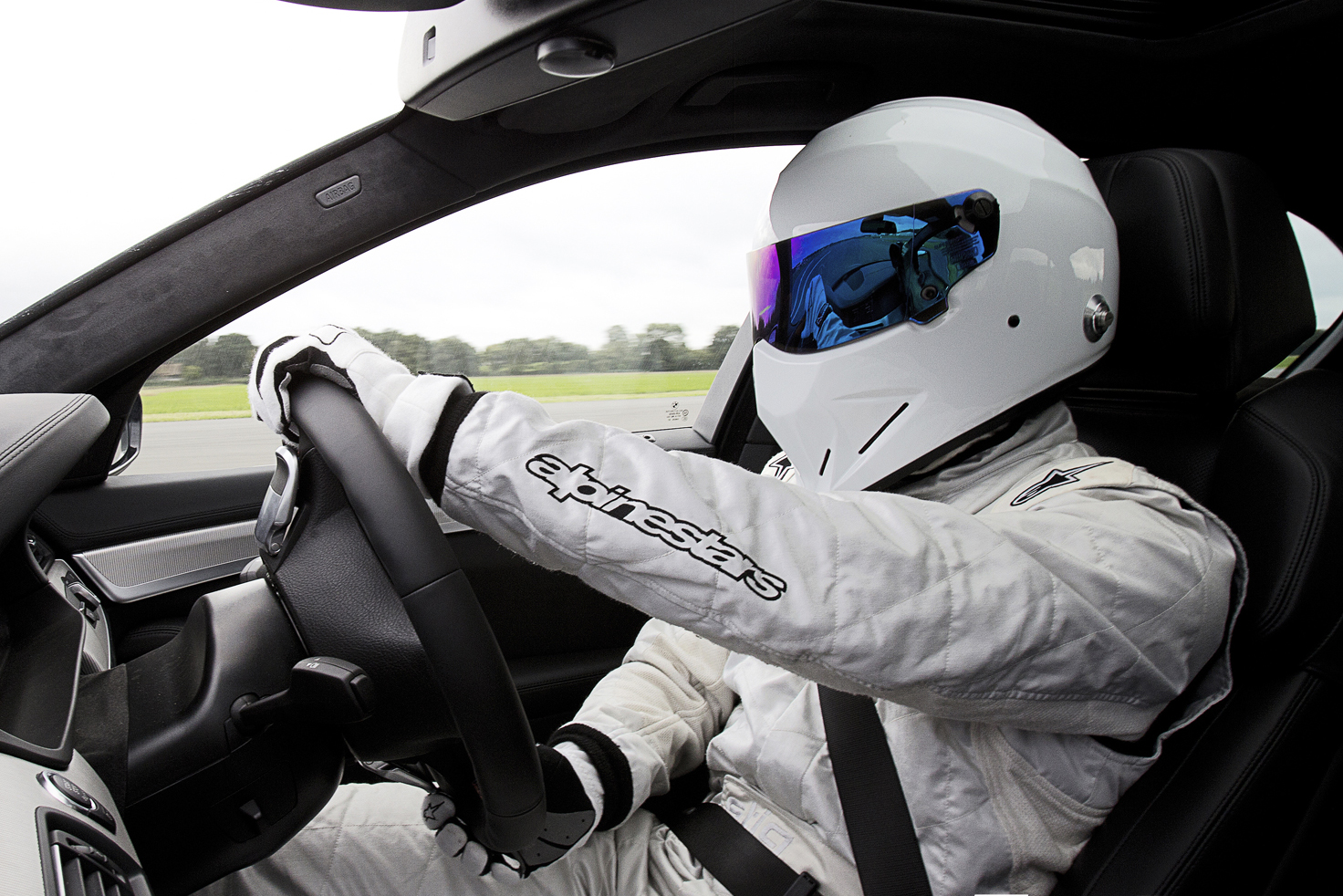 Take an Interactive 360° Tour With The Stig Around the 'Top Gear' Test Track