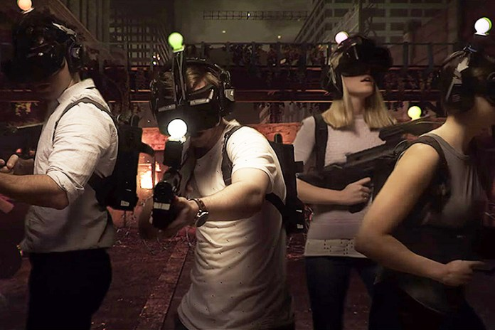 A Look Inside the World's First Immersive Virtual Reality Gaming Center