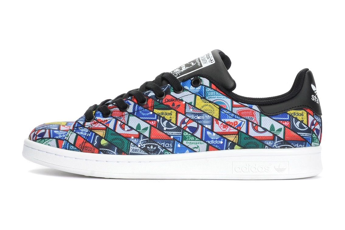 This adidas Originals Stan Smith Features a Collage of Logos