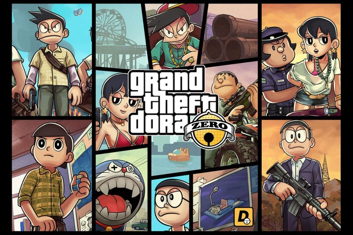 This Doraemon x Grand Theft Auto Visualization Will Ruin Your Childhood