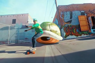 This Is What Happens When Mario Kart and Longboarding Collide