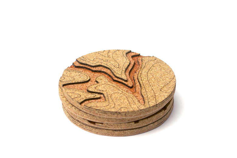 These Topo Coasters Iterate Great Locations in the U.S.