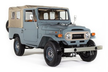 A Remarkably Restored 1971 Toyota Land Cruiser FJ43