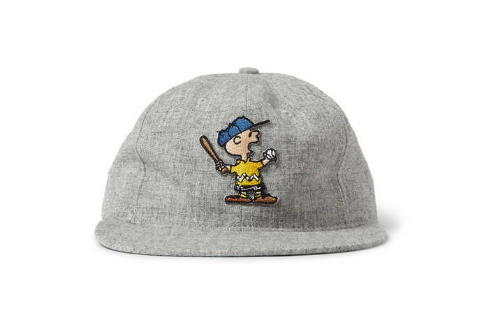 """TSPTR x Ebbets Field Flannels """"Charlie Brown"""" & """"Snoopy"""" Wool Baseball Caps"""