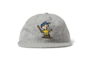 "TSPTR x Ebbets Field Flannels ""Charlie Brown"" & ""Snoopy"" Wool Baseball Caps"