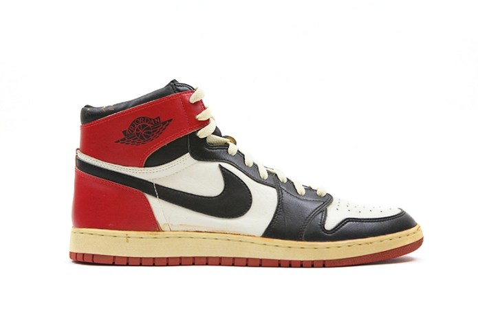 Uncovering the Very First Air Jordan 1 Sample Worn by Michael Jordan