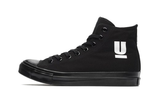 UNDERCOVER Logo Print Canvas Sneaker