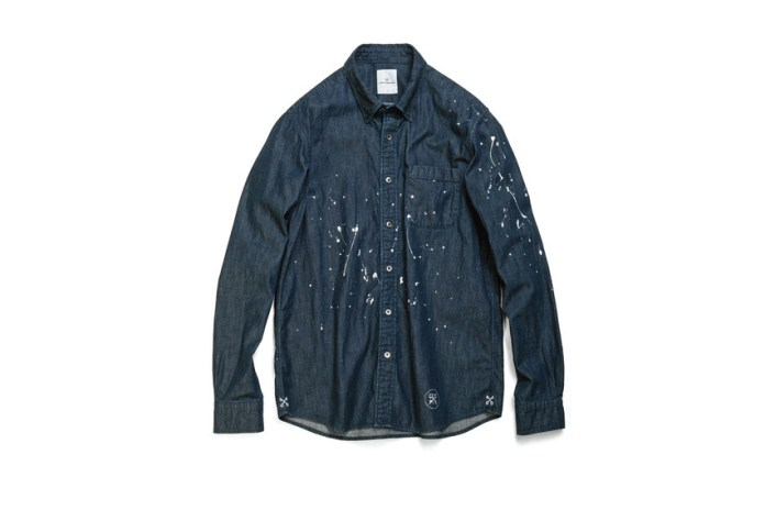 "uniform experiment 2015 Fall ""Paint Splatter"" Capsule Collection and More"