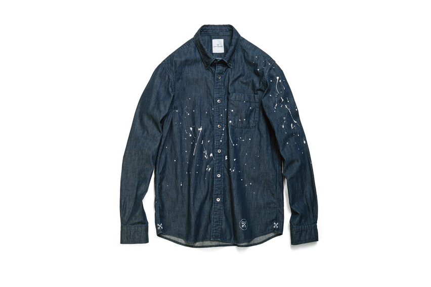 """uniform experiment 2015 Fall """"Paint Splatter"""" Capsule Collection and More"""