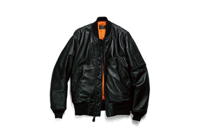 uniform experiment x Alpha Industries 2015 Fall/Winter Leather MA-1