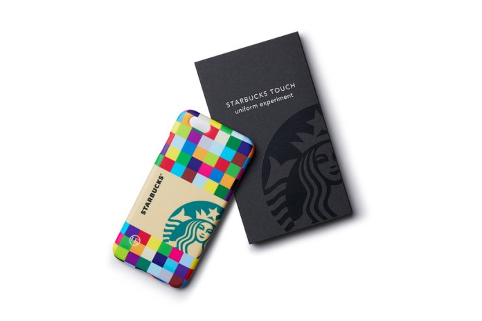 uniform experiment x Starbucks Touch iPhone Case