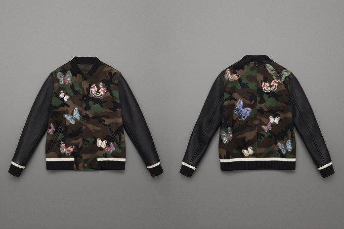 Valentino 2015 Fall Varsity Jackets