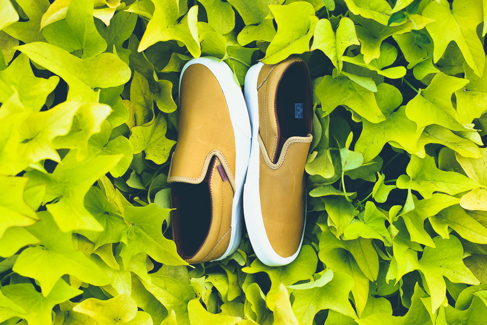 "Vans 2015 Fall Classic Slip-On CA ""Fall Leaf"""