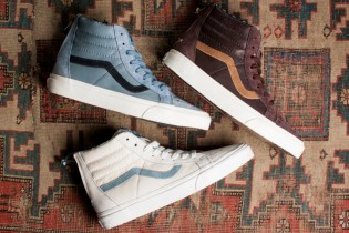 Vans Leather Nubuck Sk8-Hi Zip CA