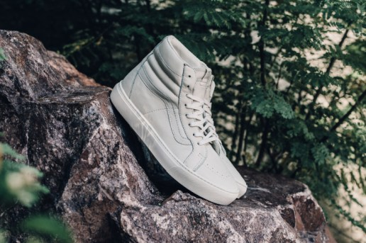 "Vans Leather Sk8-Hi Cup CA ""Whisper White"""