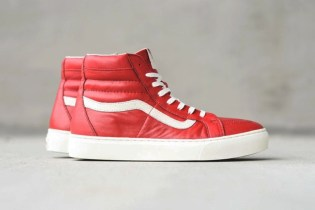 "Vans Sk8-Hi Cup CA ""Chili Pepper"" & ""Patriot Blue"""