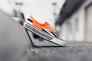 Vans Vault OG Era LX Black Stripe/Mandarine Orange