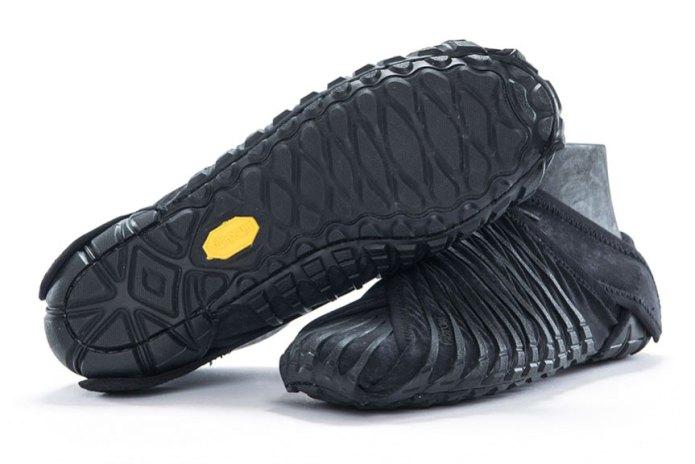 Vibram Unveils a Furoshiki-Inspired Shoe That Wraps Around Your Foot