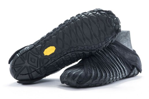 Vibram Unveils a Furoshiki-Inspired Shoe That Wraps Around Your Foot