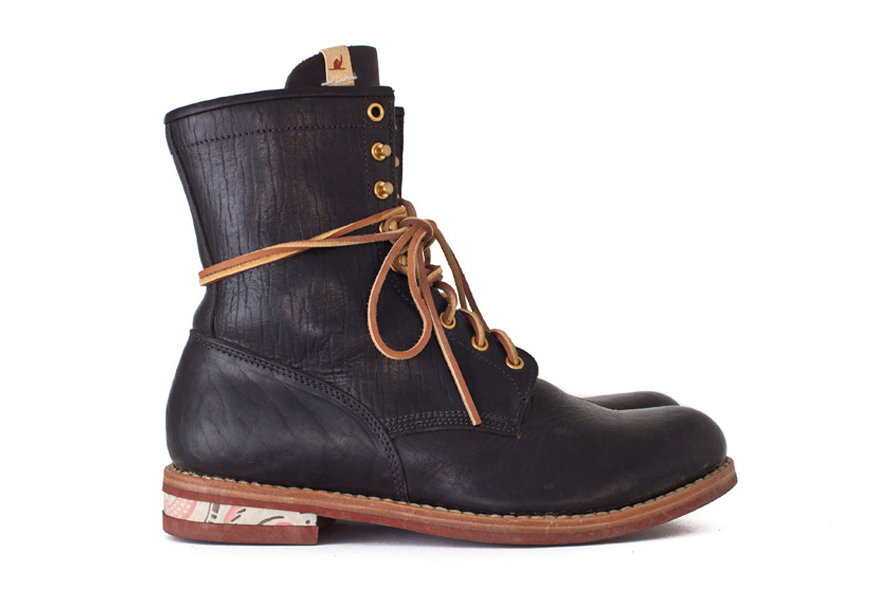 "visvim 2015 Fall/Winter Brigadier Boots ""Hi-Folk"""