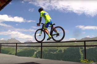 Vittorio Brumotti Goes off the Beaten Path in Livigno