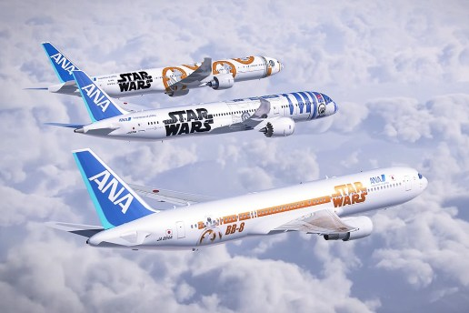 Walt Disney Company x ANA 'Star Wars'-Themed Jets