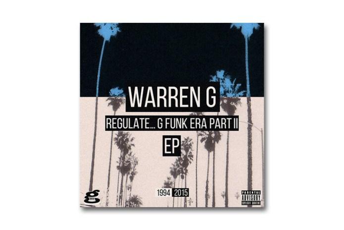 Warren G - Regulate... G Funk Era, Pt. II (EP Stream)