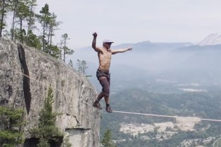 Watch Spencer Seabrooke Break the World Record for Longest Free Solo Slackline
