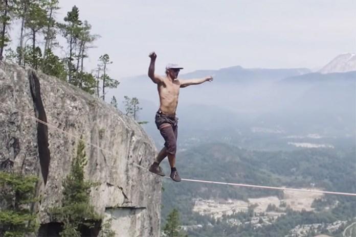 Watch Spencer Seabrooke Break the World Record for Longest Free Solo Slackline