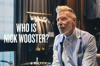 Who Is Nick Wooster?