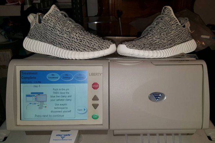 A Man Is Looking to Trade His Yeezy Boosts for a New Kidney