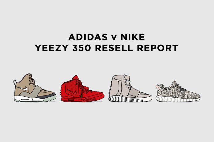 Tracking the Resell Price of All the Yeezy Sneakers