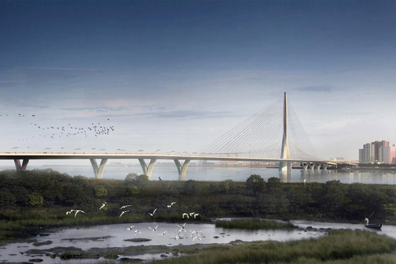 Zaha Hadid to Build Danjiang Bridge in Taiwan