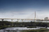 Zaha Hadid to Build Danjiang Bridge in Taiwan