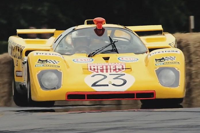 """Derek Bell's """"First Dance"""" With His 1970 Ferrari 512M - Part 2"""