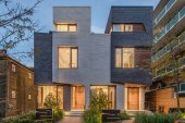 The Relmar Houses by architects luc bouliane in Toronto's Forest Hill