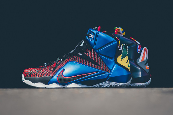 """A Closer Look at the Nike LeBron XII SE """"What The"""""""