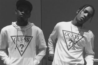 A$AP Mob x Guess Collaboration Teaser