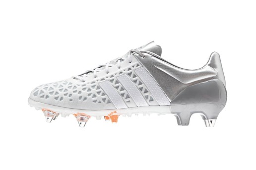 "adidas Reveals New ACE15.1 Soccer Cleat in ""White/White/Silver Metallic"""